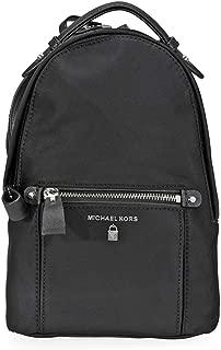 Nylon Kelsey Backpack- Black