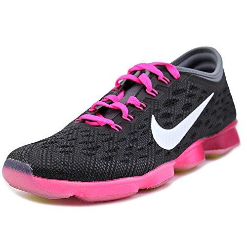 Zoom Fit Beweglichkeit - Schwarz / Pink Pow-kühles Grau-Wei�, 6 B Us
