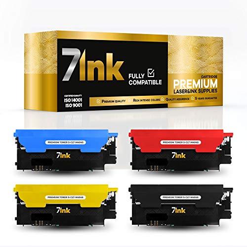 7INK - Tóner para impresoras láser Samsung - Calidad de impresión como el Original - Compatible con Cartuchos de tóner Xpress SL C430