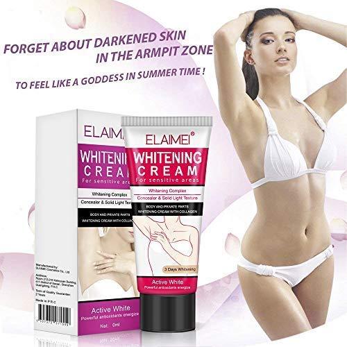 2 Pcs Natural Underarm Whitening Cream - Reparatur für Beine, Knie und PR N2G5...