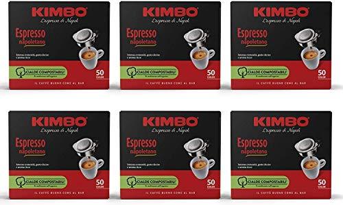 Caffè KIMBO - Kaffee Kapseln premium italienischen Kaffee ESE 44mm - ESPRESSO NAPOLI Mischung 300 Kapseln …
