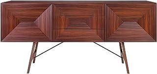 Casa Padrino aparador de Palisandro 2 Puertas y 3 cajones marrón 200 x 50 x H. 90 cm - Calidad