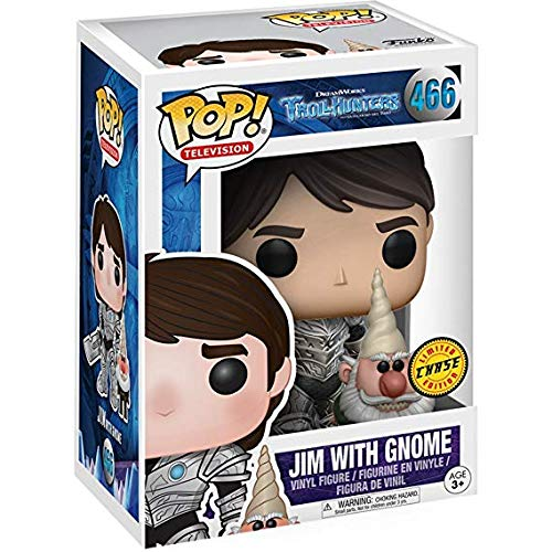 Third Party - Figurine Trollhunters - Jim Armure Et Gnome Pop 10cm - 3700936111654
