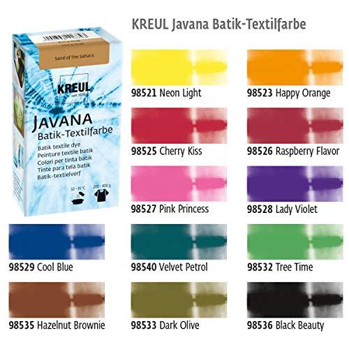 Batikfarben BigPack, 12 Batik Textilfarben