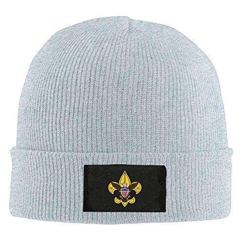 VTXINS Mode grappige Jongen Scouting (Jongen Scouts van Amerika) - Volwassen Knit Cap Beanies Hoed Winter Warme Hoed
