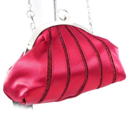 Les Trésors De Lily [H4246] - Sac Bourse 'Nina' rouge