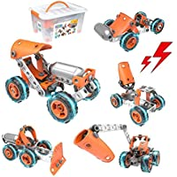 Barchrons STEM 5-in-1 DIY Learning Construction Toy Kit