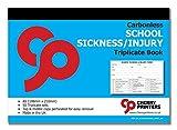 Cherry NCR - Cuaderno triplicado de enfermería y lesiones, tamaño A5 (148 x 210 mm), 50 juegos sin carbón