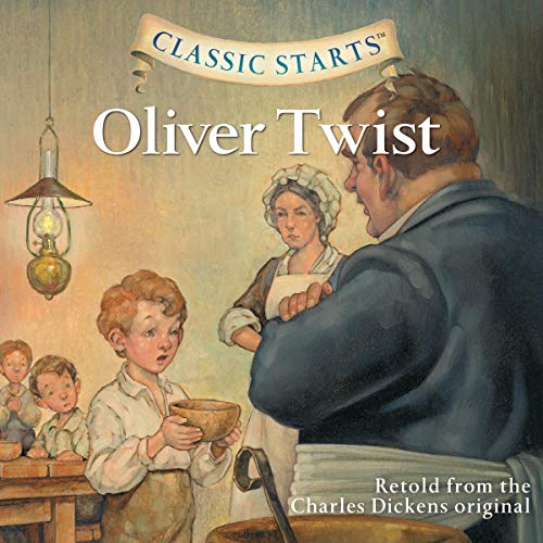 Oliver Twist audiobook cover art