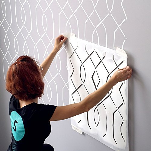 Large Wall Stencils for Painting: Amazon com