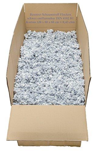 Basotect ® Schaumstoffflocken schwer entflammbar 430 Liter Karton