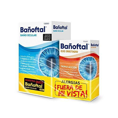 PACK ANTI IRRITACIÓN OCULAR BAÑOFTAL BAÑO OCULAR 40 ML+ BAÑOFTAL OJO IRRITADO 10ML