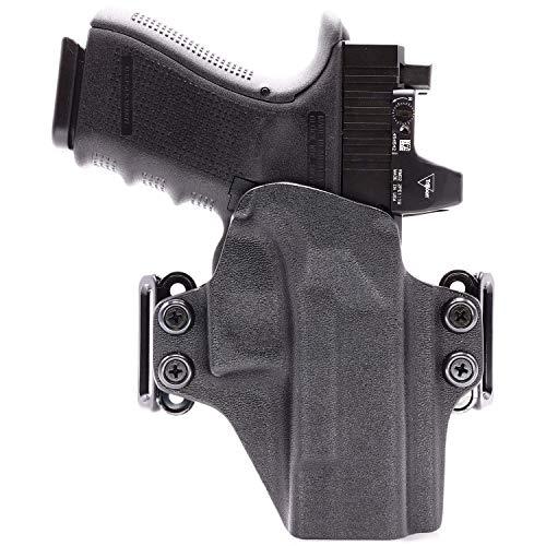 Concealment Express OWB Belt Loop KYDEX Holster fits Sig Sauer P365 XL   Ambidextrous   Black
