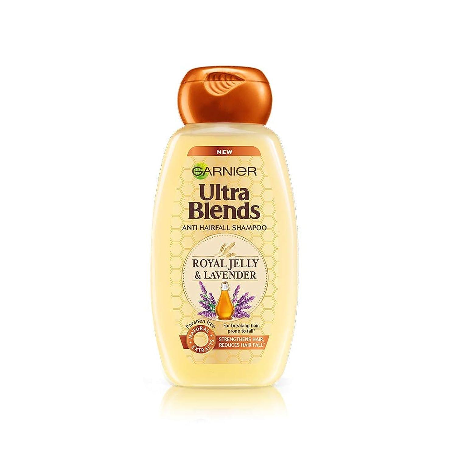 メキシコ忍耐丈夫Garnier Ultra Blends Shampoo, Royal Jelly and Lavender, 340ml
