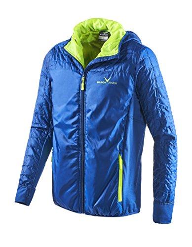 Black Embout Crevice Veste Outdoor pour Homme, Bleu, XL