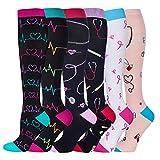 Compression Socks Women and Men, 20-30mmHg, Best for Nurses, Travel,...