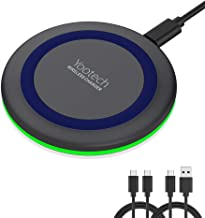 Yootech Wireless Charger,Qi-Certified 10W Max Fast Wireless Charging Pad Compatible with iPhone 11/11 Pro/11 Pro Max/XS MAX/XR/XS/X/8, Samsung Galaxy Note 10/S10/S9/S8,AirPods Pro(No AC Adapter)