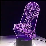 Battle Bus Souvenir Geschenk 7 Farben Touch Tisch Schreibtisch Licht 3D Led Lava Lampe Acryl Illusion Raum Atmosphäre Beleuchtung