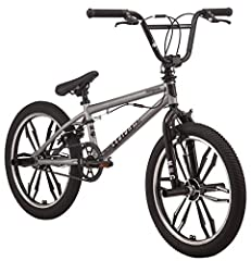 Designed for professional level performance, the mongoose Legion mag freestyle BMX bike has all the strength and style you need in the bike park The premium mongoose hi ten steel bmx frame and fork features low stance geometry to offer a durable, res...