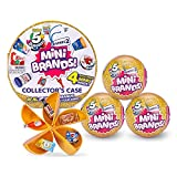 5 Surprise Mini Brands Series 2 Collector's Kit - Amazon Exclusive Mystery Capsule Real Miniature Brands by Zuru (3 Capsules + 1 Collector's Case)