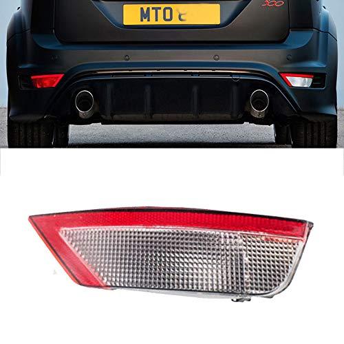 GSRECY - Cubierta reflectora para parachoques trasero para Focus MK2 2008-2011 Hatchback y KUGA ECOSPORT, luz anti niebla trasera