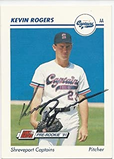 1991, Kevin Rogers, San Francisco Giants, Shreveport Captains, Signed, Autographed, Impel Baseball Card, Card # 320, a COA Will Be Included