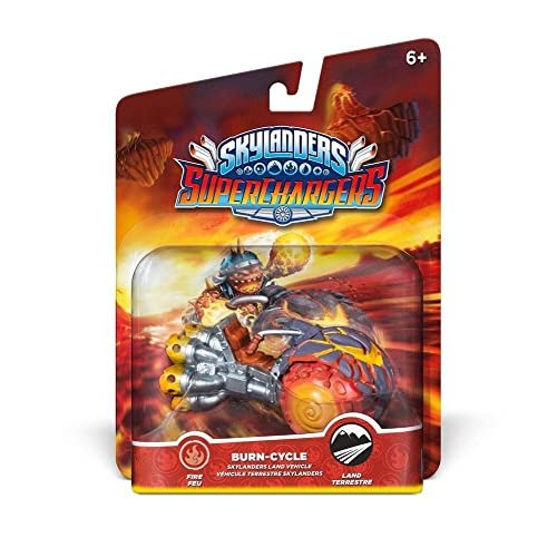 Skylanders Super Chargers Vehicle Burn Cycle