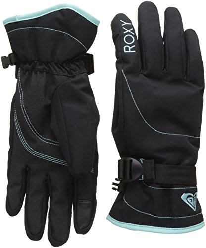 Roxy Jetty Guantes de Snowboard/Esquí, Mujer, Negro (Anthracite Solid), S