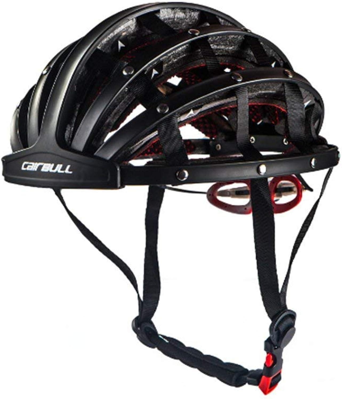 entrega rápida WSFF-Fan Casco de Bicicleta para Adulto, Plegable, Tres Colors, Colors, Colors, Talla L (56-62 cm),blanco  orden ahora disfrutar de gran descuento