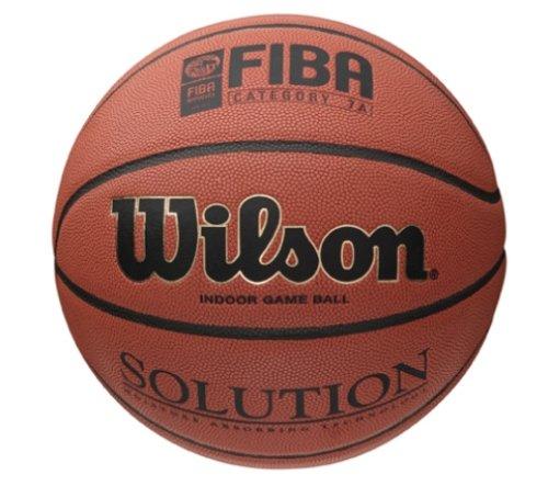 Wilson B0686X Pelota Baloncesto Solution Cuero sintético