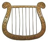 Funny Fashion Harfe für Engel oder Troubadix Kostüm - Tolles Accessoire für Theater, Mottoparty oder Karneval