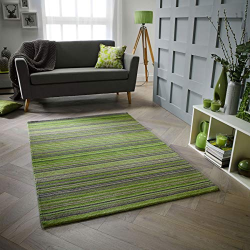 Oriental Weavers Teppich, 100% Wolle, grün, 80 x 150 cm