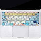 SANFORIN Keyboard Cover Protector for Apple MacBook Air 13 Inch 13.3' A1932(2018 2019 Released),...