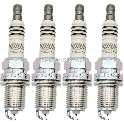 Bougie 4pcs / set IX Spark Plug BKR5EIX-5464 BKR6EIX-4272 BKR7EIX-2667 BKR8EIX-2668 Car bougies Iridium (Color : BKR6EIX 11 4272)