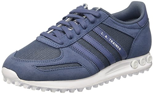 adidas Damen LA Trainer Sneakers, Blau (Tech Ink/Tech Ink/FTWR White), 36 2/3 EU