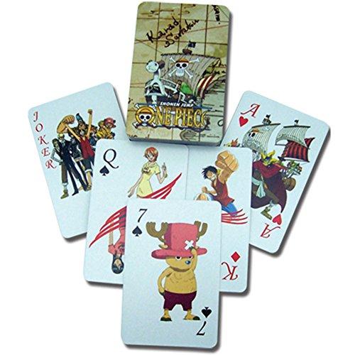 One Piece cartes à jouer poker