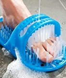 KWT Waterproof Easy Foot Cleaner Shower Slipper for All Age groups foot cleaning