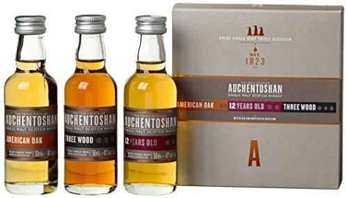 Auchentoshan Miniaturen Probier-Set Whisky (3 x 0.05 l)