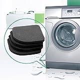 Almohadillas para lavadora con absorción de impactos, antivibración, protector para lavadora y secadora, cinta de correr