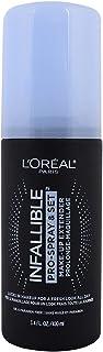 L'Oreal Paris Makeup Infallible Pro-Spray & Set آرایش ماندگار تنظیم اسپری 3.4 Fl. اوز