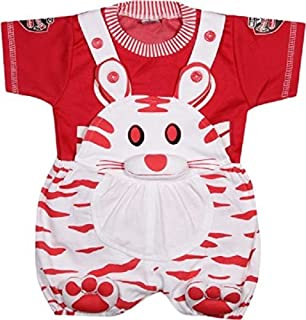 Miss U Dungaree SET with T shirt for Kids (0-6 Months)