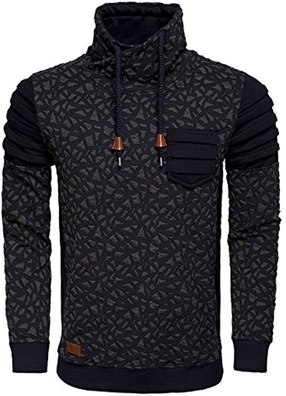 WAM Denim Sweater Navy Groen Size 2XL