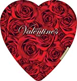 Elmer Chocolate Valentine's Day Rose Bouquet Heart Gift Boxes, 6.8 Ounce Box