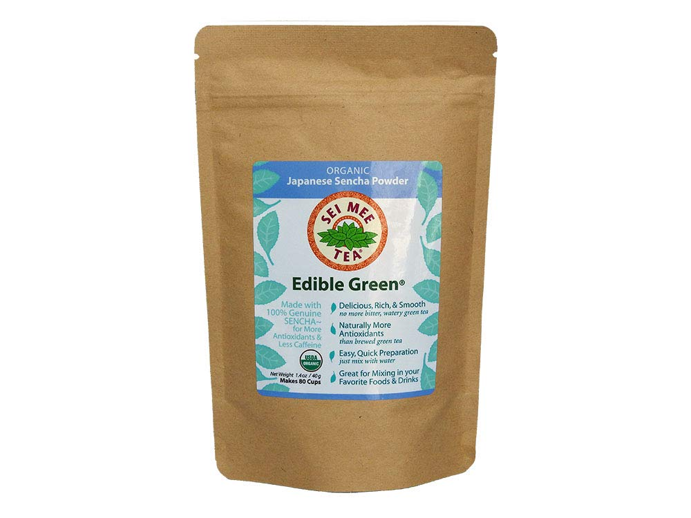 Edible Green Sencha Powder Regular
