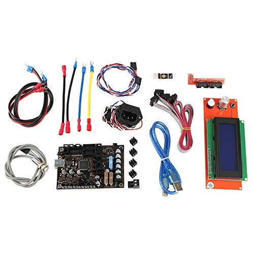 Allamp 3D Printer Einsy Rambo 1.1A Mainboard+2004 Lcd+Filament Sensor+ Pinda V2+Power Panic Board for Prusa I3 Mk3 accessories
