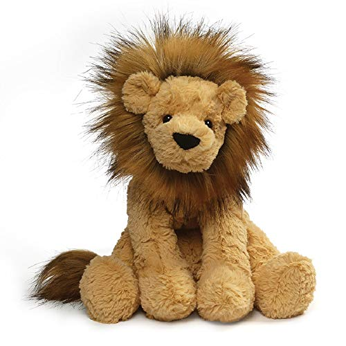 GUND Cozys Collection Lion Stuffed Animal Plush, Tan, 10'