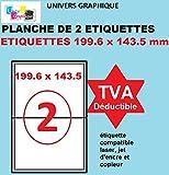 500 A4 foglio di etichetta autoadesiva 12 millimetri rotonda delle etichette autoadesive 60 12 della carta rotondo per getto dinchiostro e stampanti laser