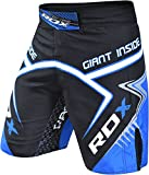 RDX MMA Pantalones Boxeo Corto Entrenamiento Running Muay Thai Shorts Fitness Kickboxing.