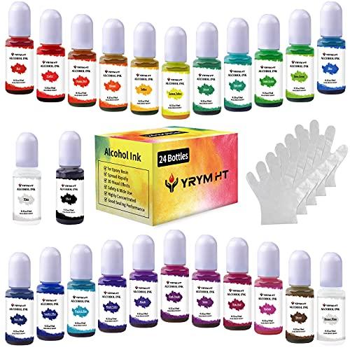 Alcohol Ink Set - 24 Colors