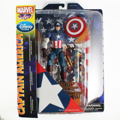 Marvel Marvel Select Captain America Action Figure